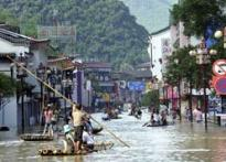 Flood in China leaves 55 dead, 1 million forced to flee