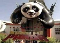 <i>Kung Fu Panda</i> premieres in LA, minus Jolie