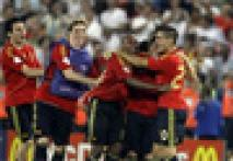 In pics: <a href='http://www.ibnlive.com/photogallery/870.html'>Spain stun Germany, win Euro 2008 final</a>