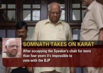 Somnath speaks his minds, takes a stand against party