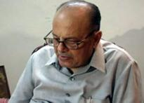 HRD minister Arjun Singh admitted to AIIMS