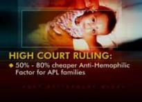 Despite HC order, hemophilia patients still suffering