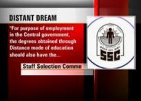 Govt job distant dream for some Madras Univ students