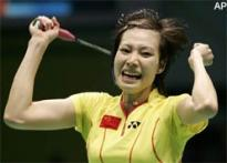China guaranteed gold in women's badminton singles