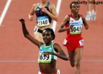 Dibaba takes women's 10,000m; Majewski wins shot put