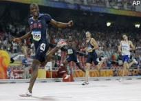 Merritt stuns Wariner to lead US 400m medal sweep