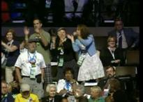 Democratic convention turns funky musical act