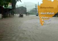Heavy Rains hit Mumbai, Goa and Eastern Maharashtra