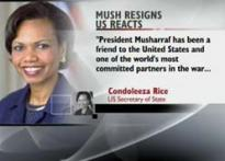 US appreciates Mush's efforts in fighting terrorism