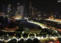 F1 gets ready for first ever night race at Singapore GP