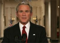 Desperate, Bush appeals to Americans for bailout