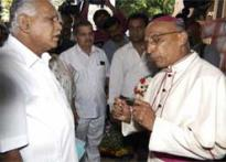 Yeddyurappa speaks up, warns church attackers