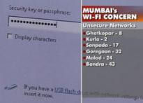 Wifi networks remain to stay insecure in Mumbai
