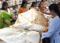 Weavers weaving good business on Onam