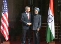 Manmohan, Bush congratulate each other