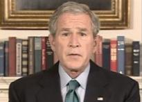 Bush to bring back bailout bill, says situation urgent