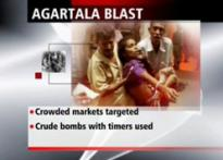 Agartala on terror map as 5 blasts rock city | <a href='http://www.ibnlive.com/photogallery/989.html'>Pics</a>