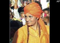 Sadhvi Pragya to undergo narco test | <a href='http://stg.ibnlive.com/news/saffron-terror-links-grow-deep-more-arrested--more/76799-3.html'>More arrests</a>