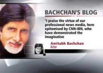 Big B's latest blog entry on CNN-IBN CJ awards