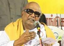 Karunanidhi threatens pullout over Tamils in SL issue