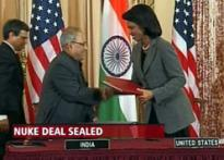 123 pact signed, Rice calls the deal 'unprecedented'