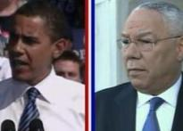 Colin Powell says it firm, he supports Obama