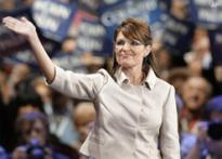 Palin flaunts her newly adorned wardrobe