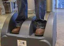 Shoe Scanner at airports to reduce routine hassles