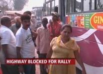 Sonia Gandhi's Haryana rally takes toll on NH-1