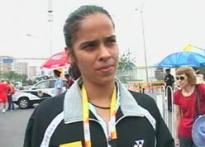 Saina eyeing senior world championships next year