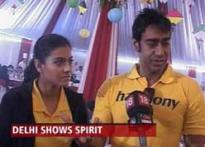 Kajol, Ajay Devgan joins Airtel Delhi Half-marathon