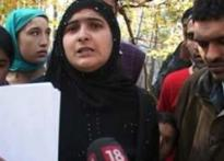Kashmiri woman then tortured now contests elections