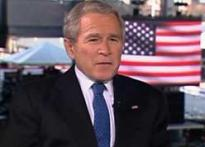 Watch: Bush regrets some things he said in power