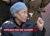 WWII sex slavery victims want govt apology
