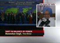 G20 meet a success, says PM | <a href='http://ibnlive.in.com/news/indian-companies-strong-safe-chidambaram/78277-7.html'>FM says India safe</a>