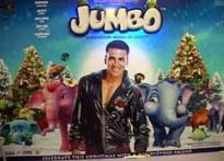 Akshay Kumar lends voice to blue elephant in <i>Jumbo</i>