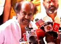 Movie first, Rajinikant rules out political career