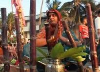 A Marathi-Bihari mixed family bonds over Chhath