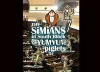 Fine Print: <I>Simians of South Block...</i> for animal lovers