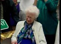 Watch: World's oldest working woman