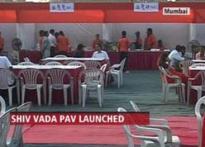 Shiv Sena's  Shiv <i>Vada Pav</i> for Marathi <i>Manoos</i>