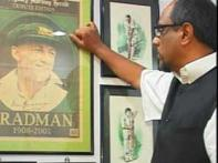Cricket fan has a treasure trove: Bradman's letters