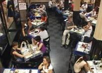 Life back on track, people return to Cafe Leopold