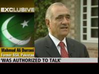 Sacked NSA Durrani says Pak PM fired him unduly