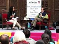 Literature Festival begins, Jaipur all 'lit' up