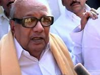 Karunanidhi flays attempts to politicise suicide