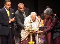 Zohra Sehgal inaugurates the <i>Bharat Rang Mahotsav</i>