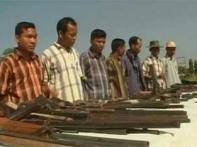 Top commanders of Tripura Tiger Force surrender
