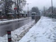 Jammu Kashmir weather turns colder, snow covers state