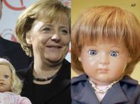 Barbie doll is 50, namesake of Angela Merkel on stands
